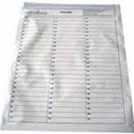 Saco Plástico para Documentos